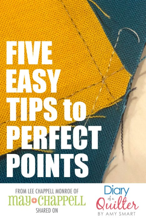 Five Easy Tips to Perfect Quilt Points