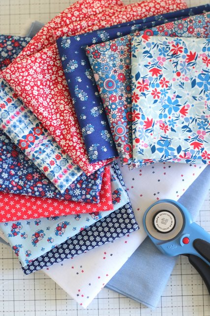 Carnaby Collection from Liberty Quilting Cottons