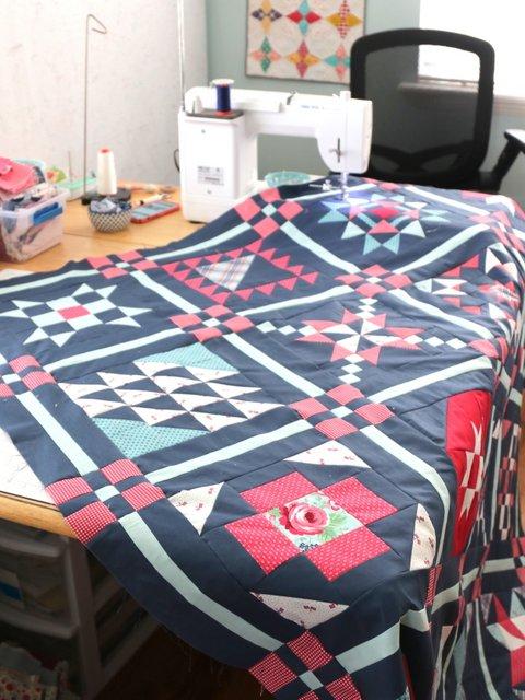Free Sampler Quilt Pattern 2021 from Riley Blake Designs