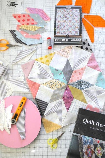 Scrap quilt pattern ideas from Jen Kingwell
