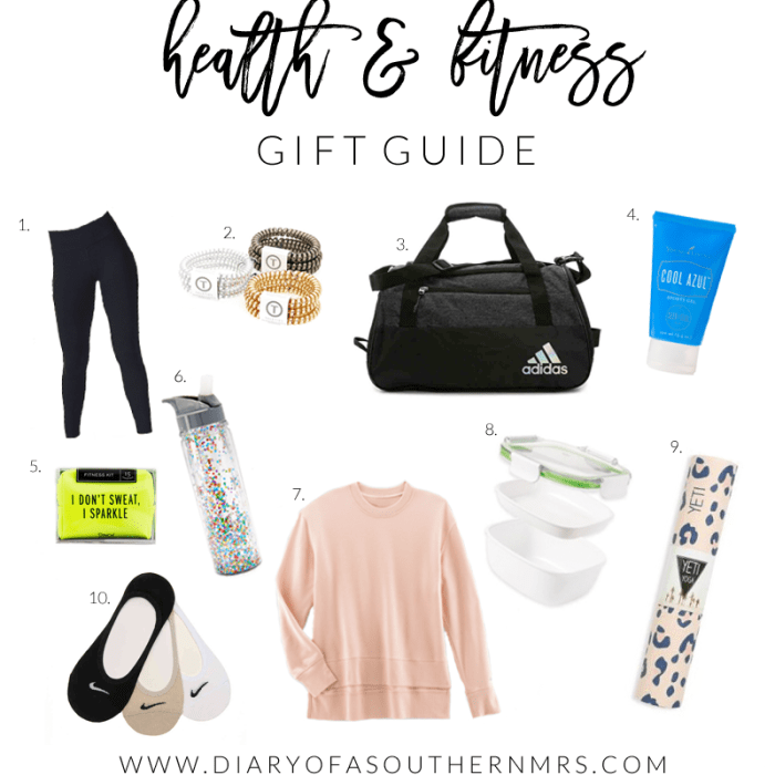 Gift Guide - health & fitness
