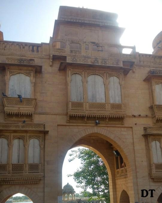 GATEWAY OF GADISAR LAKE
