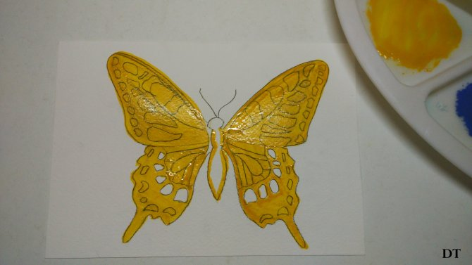 how to make the butterfly