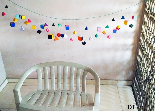 wall hangings using paper