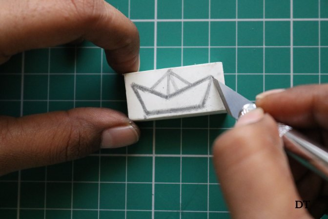 how to make a stamp?