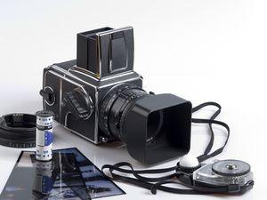 Mittelformat Kamera