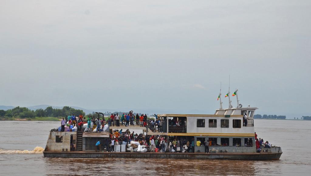 RDC: 50 morts dans le naufrage d'une embarcation dans le Nord-Ouest