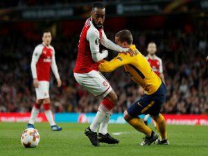 Arsenal craque sur la fin et concède un nul face à l'Atlético