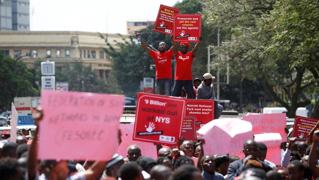 Kenya: marche contre la corruption à Nairobi