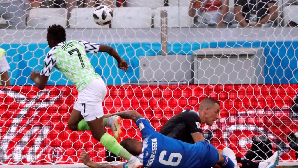 Mondial 2018: le Nigeria bat l'Islande avant de défier l'Argentine