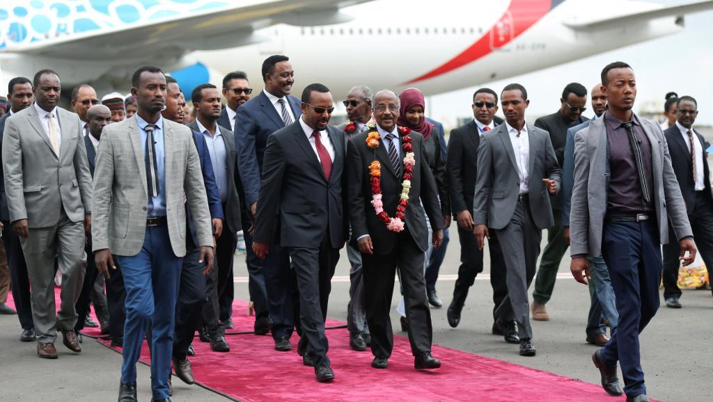 Ethiopie: visite historique d'une délégation érythréenne.