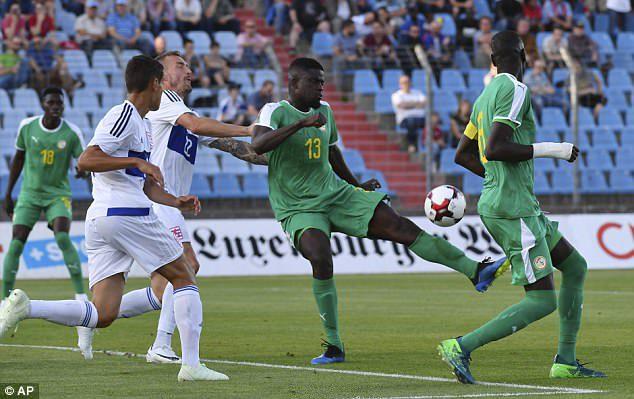 Le Sénégal accroché au Luxembourg