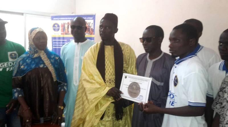 Jeunes de diass: reçoivent leurs diplômes