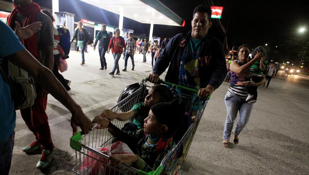 Honduras: les caravanes de migrants fuient le chômage et la violence