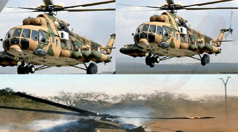 03 morts dans le crash d'un hélicoptère militaire du Sénégal en Centre-Afrique