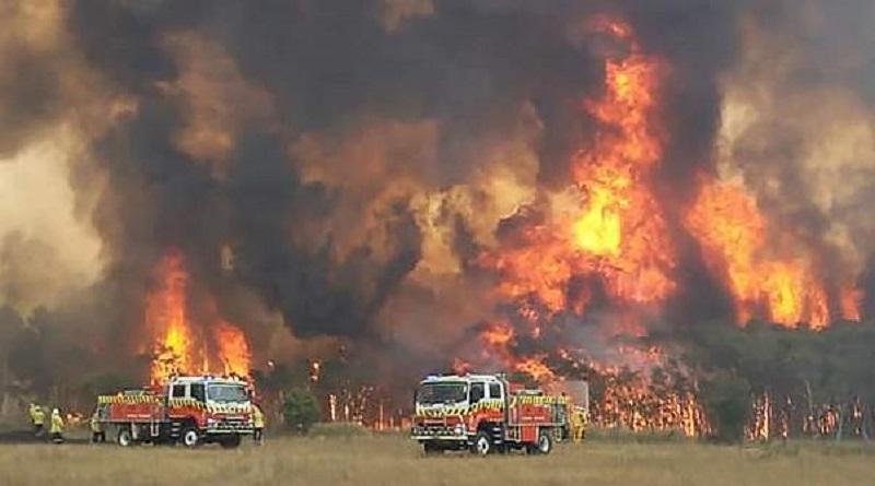 Incendies en Australie: le vent et la canicule aggravent la situation