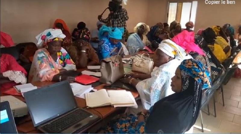 Madame la maire de Diass, appui le projet de contribution a la vulgarisation et a la protection des droits des femmes.