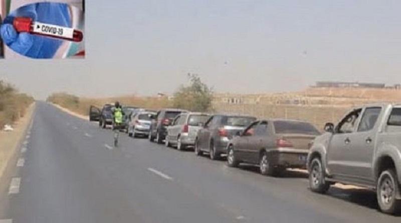 Interdiction de circuler/ Plus 1 297 véhicules et 447 motocyclettes immobilisés dans la région de Thiès