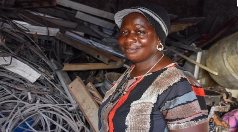 De la vente de fruits à Sébikotane à la récupération-commercialisation de ferraille, cuivre et aluminium, Fama Kobar fait son chemin.