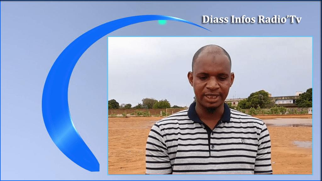 NAVETANE 2021 A DIASS  : ALIOU KA  président de la zone parle aux acteurs et aux autorités.