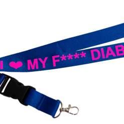 I ♥ MY FU*** DIABETES