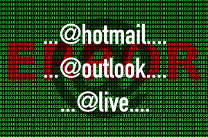 Microsoft eMail Problem