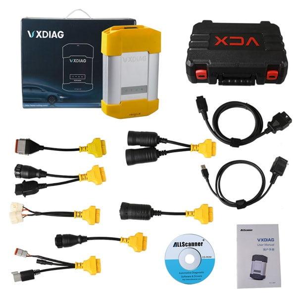 Allscanner VXDIAG VCX HD Heavy Duty Truck Module Package List