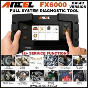 Ancel FX6000 OBD2 Diagnostic Tool Diatools 1AA