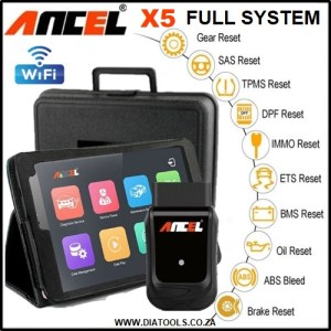 Ancel X5 WIFI Tablet Car Diagnostic Tool Diatools 1B