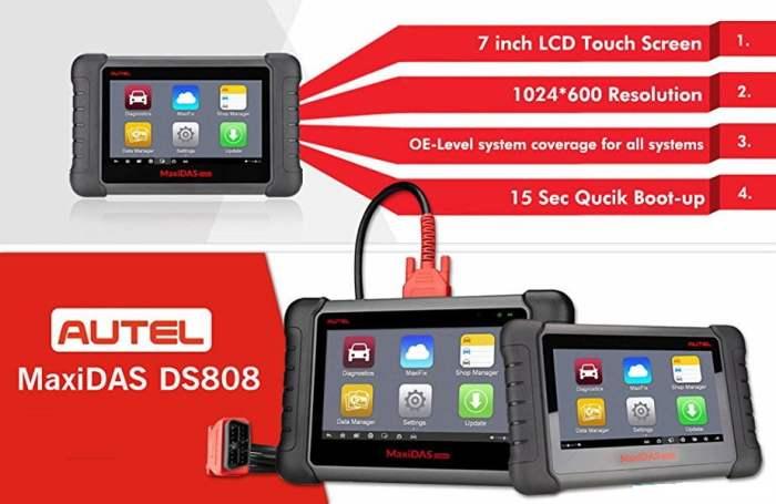 AUTEL MaxiDAS DS808K Diagnostic Tool
