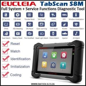 EUCLEIA Tabscan S8M Diatools 1A