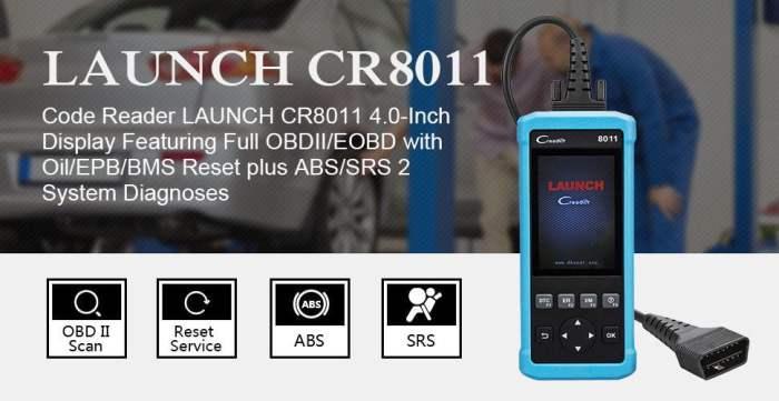 Launch CReader 8011