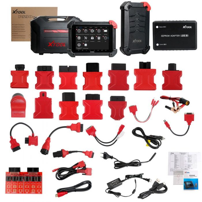 XTool PS90 Diagnostic Tool Package List