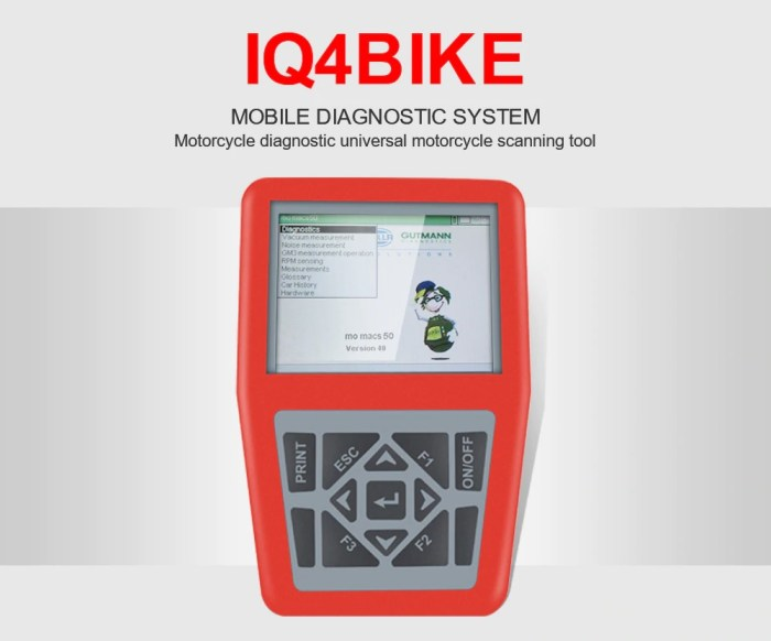 iQ4bike Universal Motorcycles Diagnostic