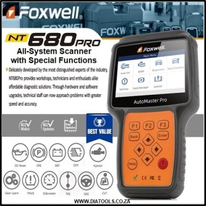 Foxwell NT680 Pro Diatools 1A