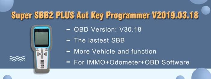 Super SBB2 Plus Auto Key Programmer