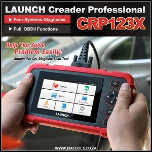 Launch CRP123X Diatools 1B
