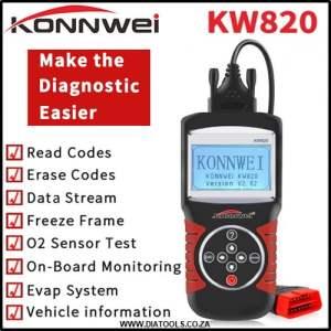 KONNWEI KW820 Diatools 2A