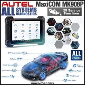 AUTEL MaxiCom MK908P Diatools 1D