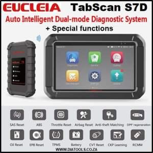 EUCLEIA TabScan S7D Diatools 1A