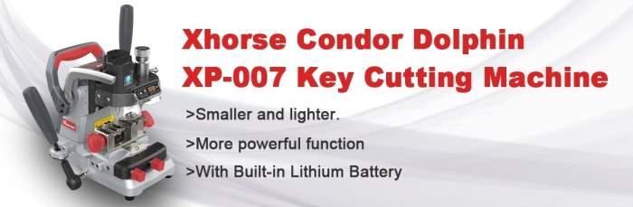 Xhorse Condor Dolphin XP007 Manual Key Cutting Machine