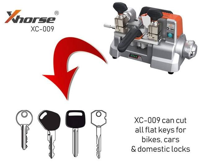 Xhorse Condor XC009 Key Cutting Machine