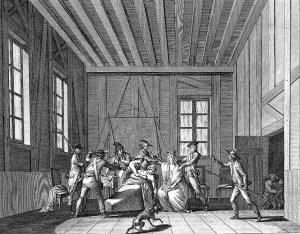 Assassination of Jean Paul Marat. Image
