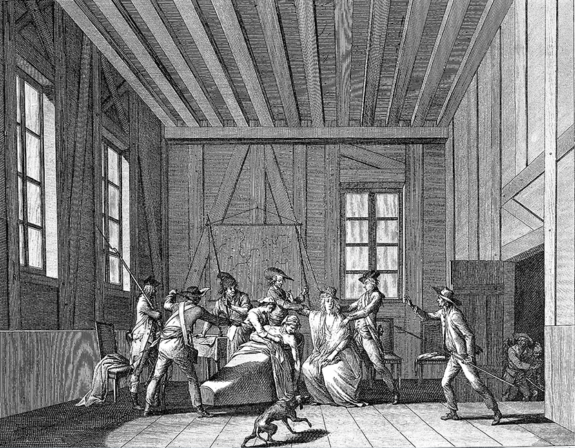 Assassination of Jean Paul Marat. Image
