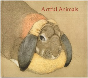 Book cover. Artful Animals