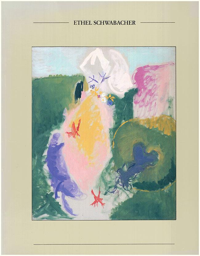 Book Cover. Ethel Schwabacher: A Retrospective Exhibition (30485)
