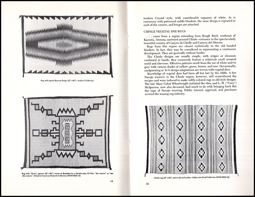 Inside Pages: Navajo Weaving Today (Revised Edition) (30486)