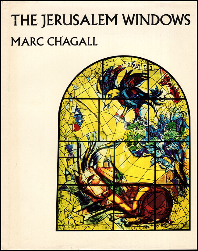 Book Cover. Marc Chagall: The Jerusalem Windows