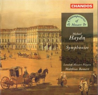 London Mozart Players, Matthias Bamert – Michael Haydn: Symphonies (1996)