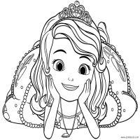 dibujos de la princesa sofia para colorear dibujos disney ...